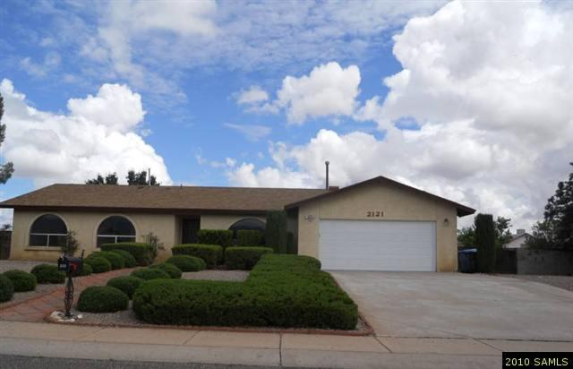 Rental Homes for Rent, ListingId:28954880, location: 2121 Piccadilly Drive Sierra Vista 85635