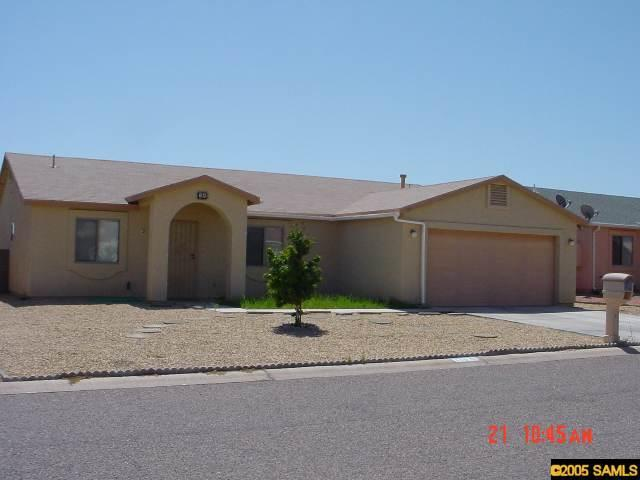 Rental Homes for Rent, ListingId:30317070, location: 110 Tomahawk Drive Huachuca City 85616