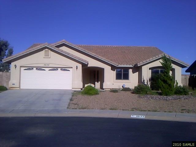 Rental Homes for Rent, ListingId:30138196, location: 3633 Wheelan Loop Sierra Vista 85635