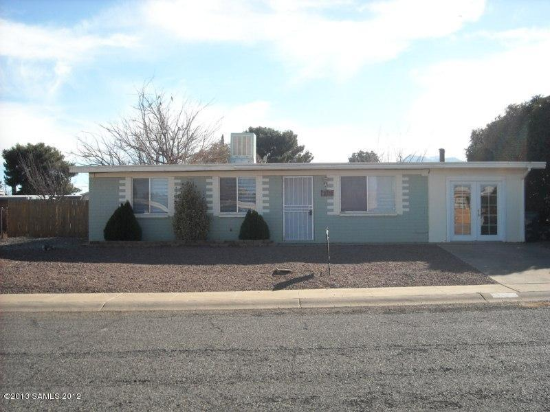 Rental Homes for Rent, ListingId:25067497, location: 2318 Santa Catalina Sierra Vista 85635