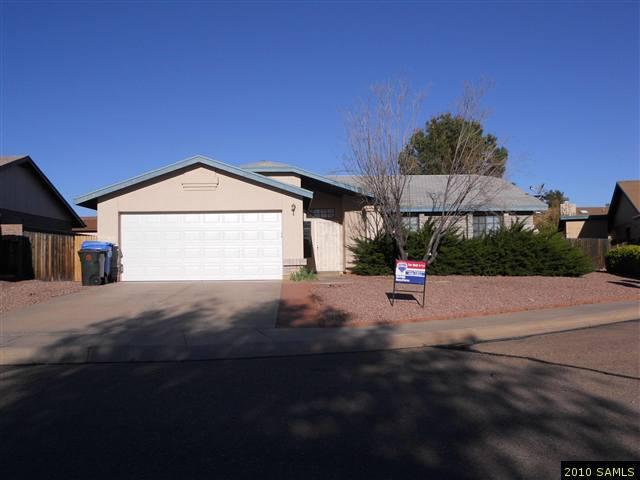 Rental Homes for Rent, ListingId:25605177, location: 3240 Flamingo Way Sierra Vista 85650