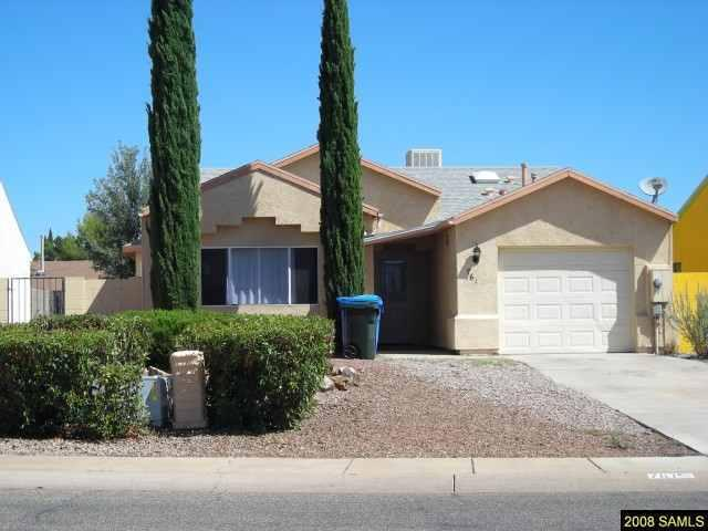 Rental Homes for Rent, ListingId:25463243, location: 761 Charles Drive Sierra_vista 85635
