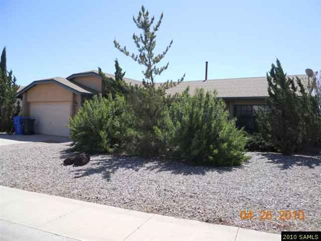 Rental Homes for Rent, ListingId:26114219, location: 3385 Eagle Ridge Sierra Vista 85650