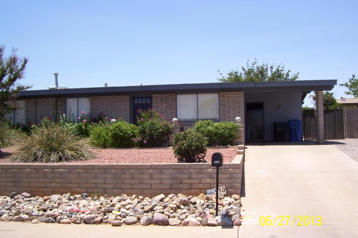 Rental Homes for Rent, ListingId:31855523, location: 539 W Mallard Circle Sierra Vista 85635