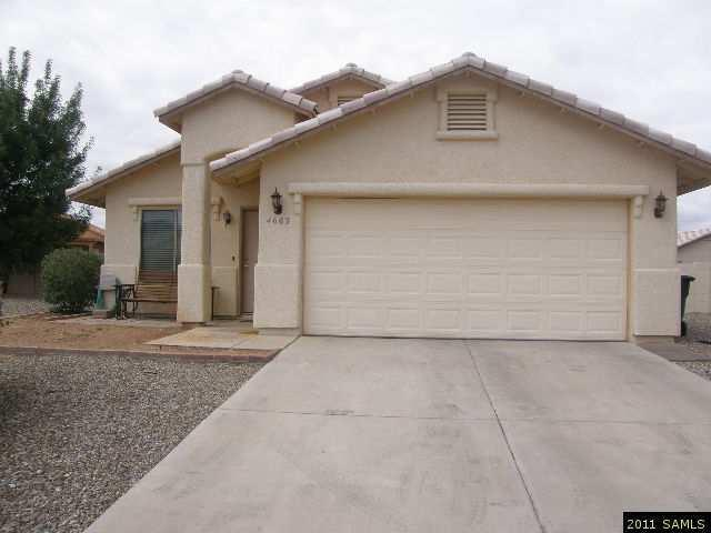 Rental Homes for Rent, ListingId:26110712, location: 4663 Lodi Ct Sierra Vista 85635
