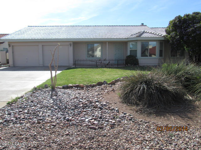 Rental Homes for Rent, ListingId:27026957, location: 2876 Saint Andrews Sierra Vista 85650