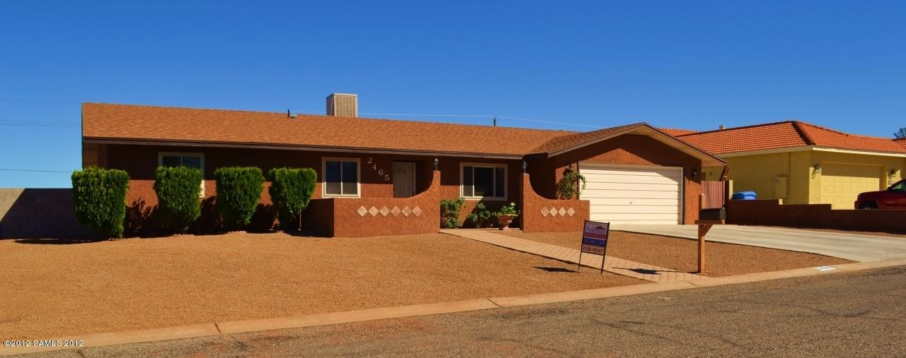 Rental Homes for Rent, ListingId:29892532, location: 2465 S Player Avenue Sierra Vista 85650