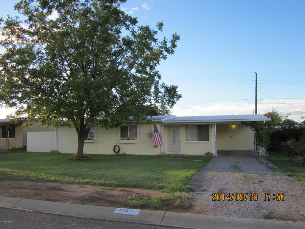 Rental Homes for Rent, ListingId:37097022, location: 333 Steffen Sierra Vista 85635