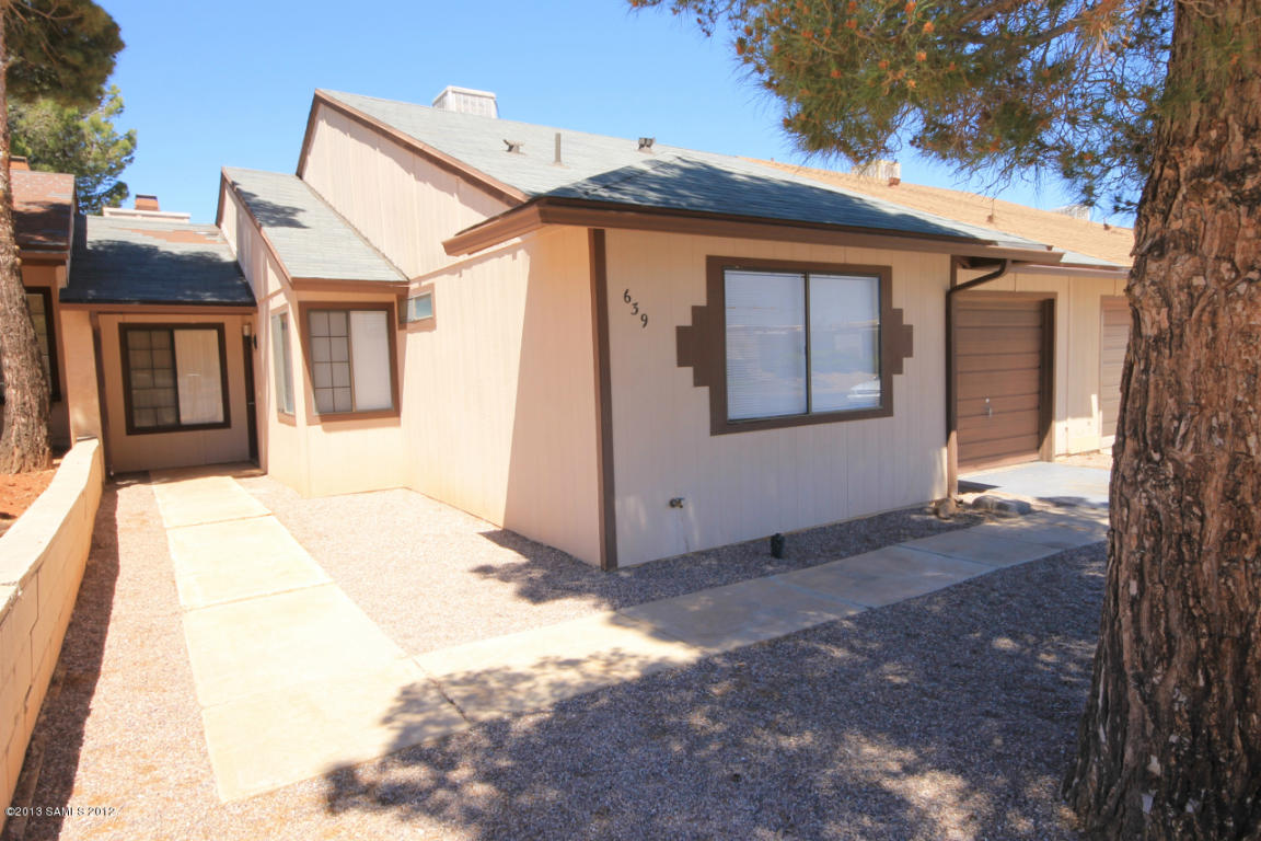 Rental Homes for Rent, ListingId:30385466, location: 639 Charles Drive Sierra Vista 85635
