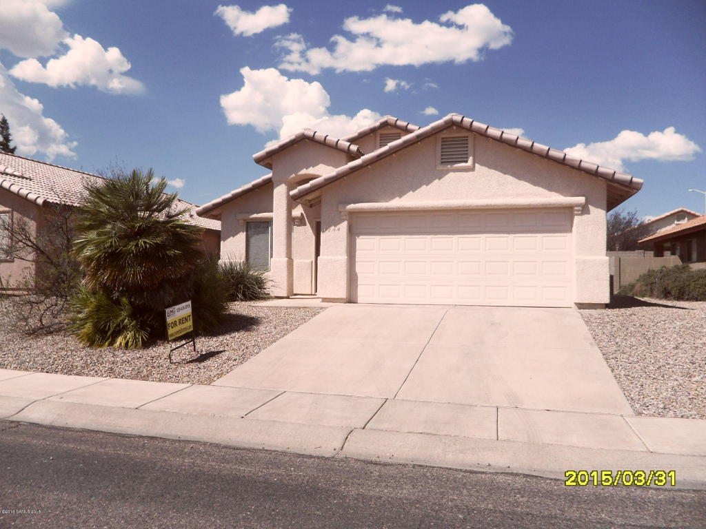 Rental Homes for Rent, ListingId:31976283, location: 4784 Chaparral Loop Sierra Vista 85635