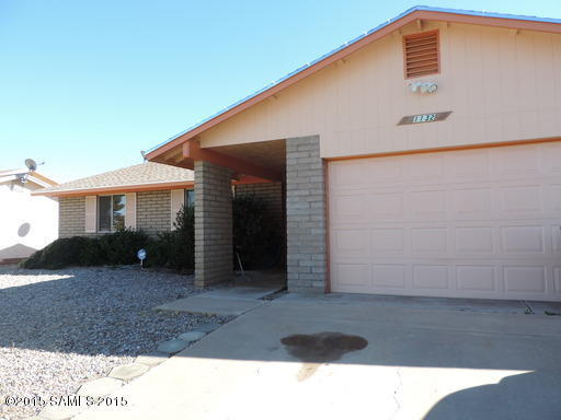 Rental Homes for Rent, ListingId:33451907, location: 1132 Acacia Sierra Vista 85635