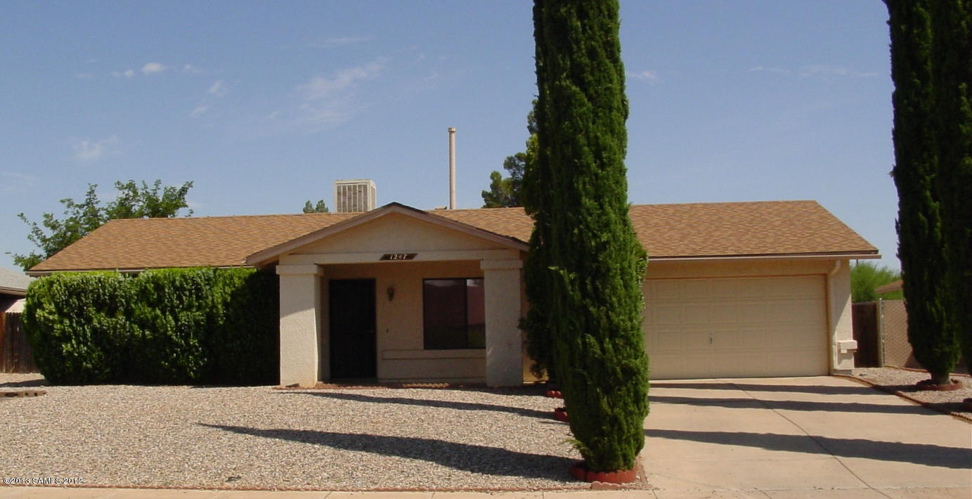 Rental Homes for Rent, ListingId:33905389, location: 1247 Cottonwood Drive Sierra Vista 85635