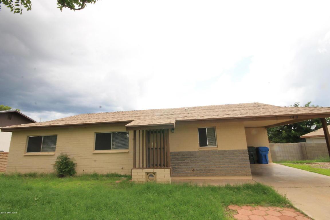 Rental Homes for Rent, ListingId:34225029, location: 748 North Avenue Sierra Vista 85635