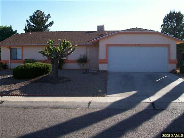 Rental Homes for Rent, ListingId:35729472, location: 2230 Orchid Sierra Vista 85635