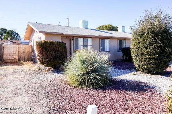 Rental Homes for Rent, ListingId:36953552, location: 540 Graham Place Sierra Vista 85635