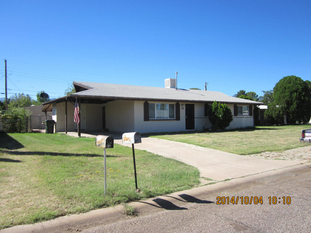 Rental Homes for Rent, ListingId:37097023, location: 34 W Kayetan Sierra Vista 85635