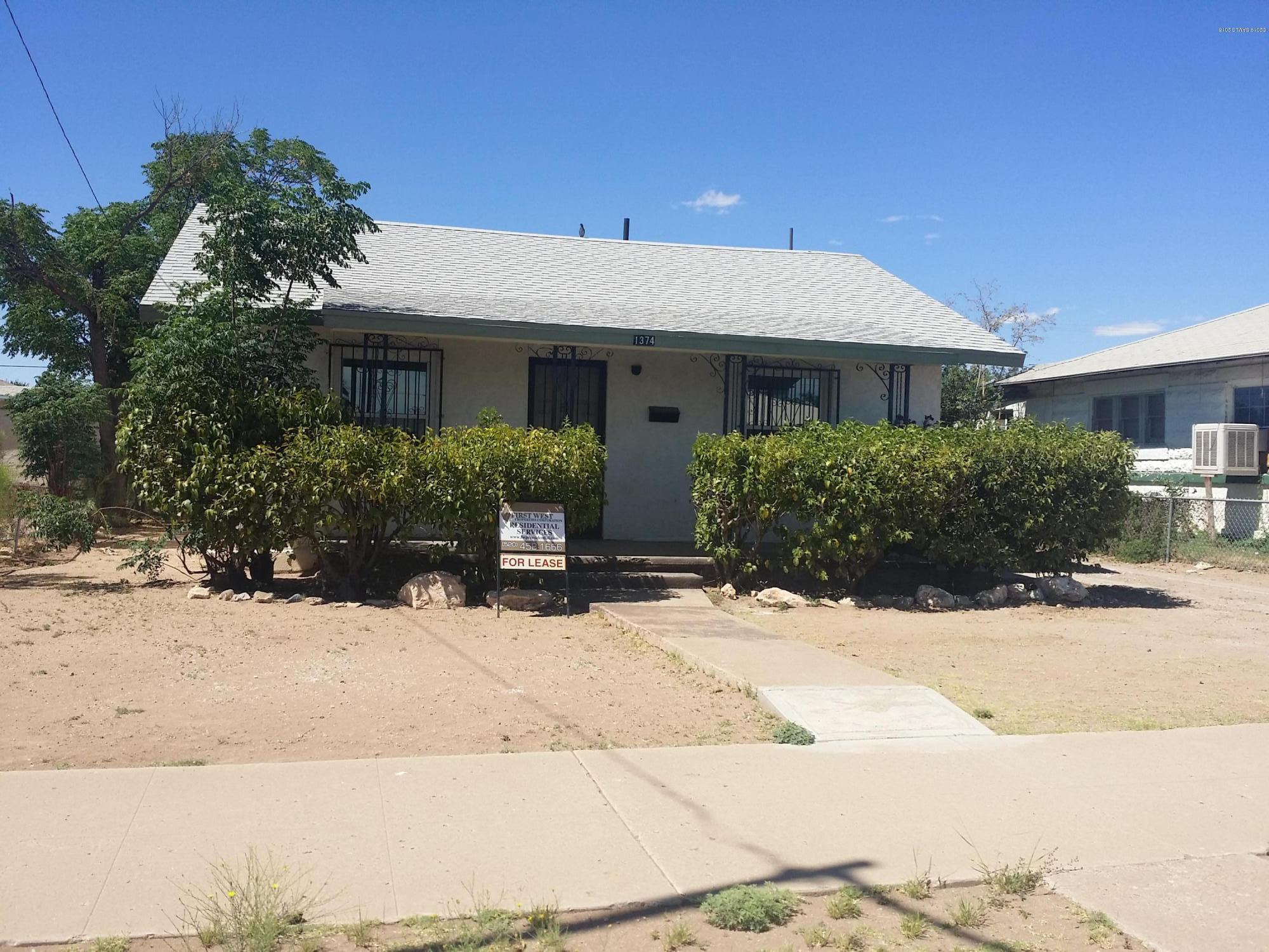 1374 E 13th Street Douglas, AZ 85607