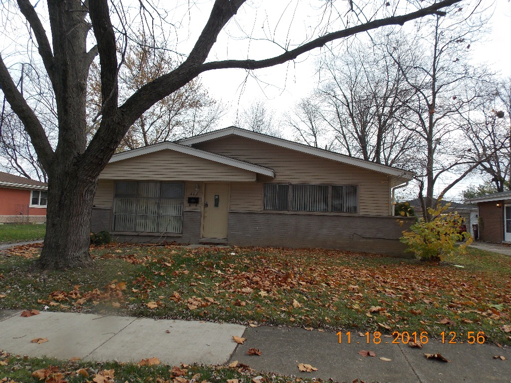 413 Todd St, Park Forest, IL 60466