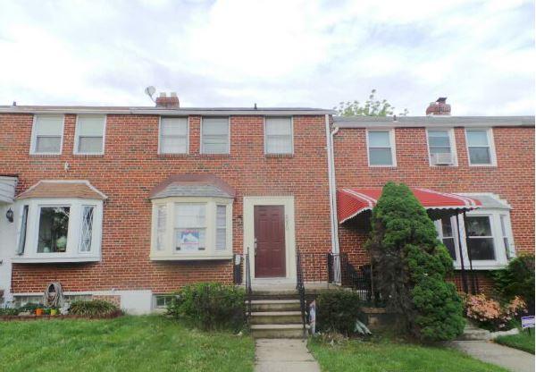 Photo of 2050 E Belvedere Ave  Baltimore  MD