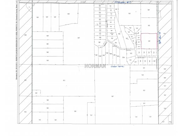10 acres by Norman, Oklahoma for sale