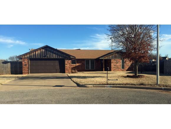Real Estate for Sale, ListingId: 36304853, Clinton,OK73601