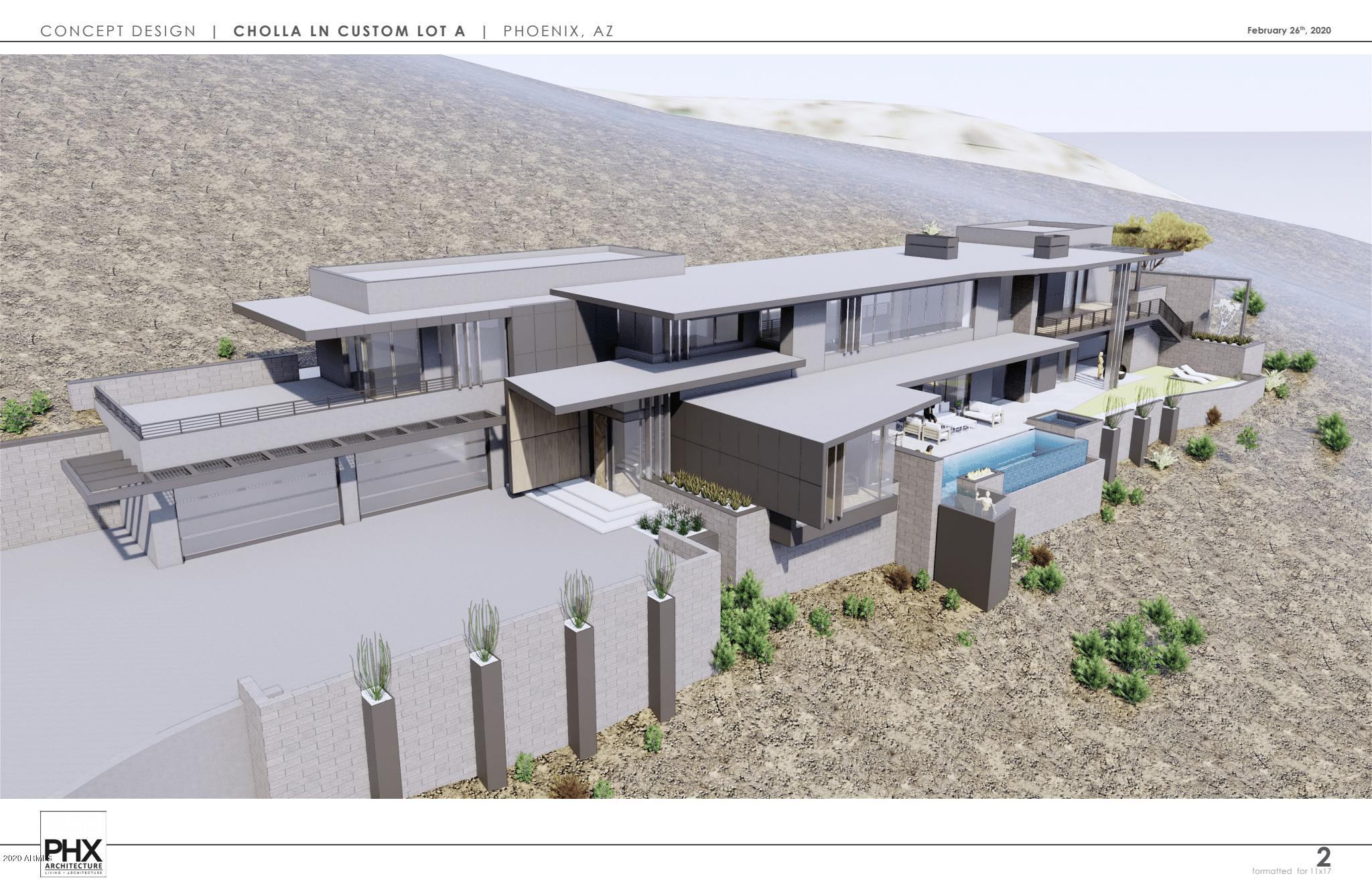 Lot A 5850 E Cholla Lane Paradise Valley, AZ 85253