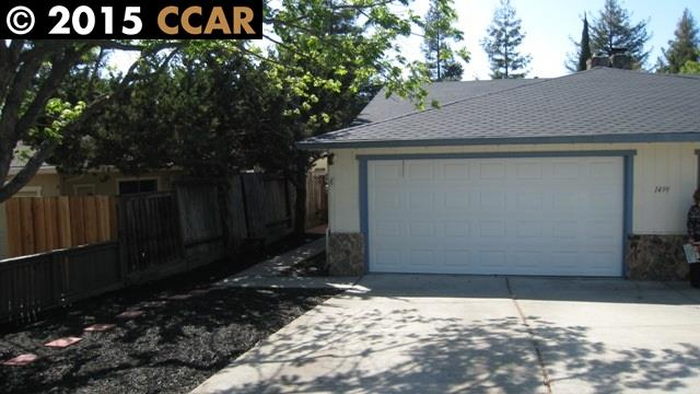 Rental Homes for Rent, ListingId:32717450, location: 1499 FOX HOLLOW CT B Concord 94521