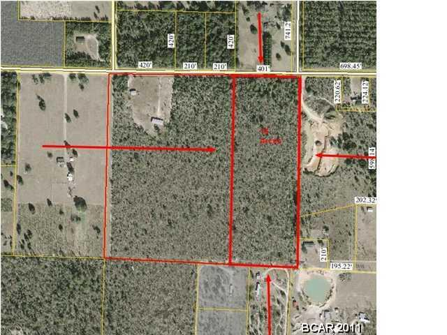 15 acres Clarksville, FL