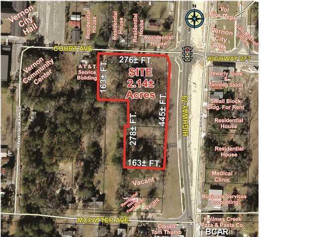 Image of Acreage for Sale near Vernon, Florida, in Washington county: 2.14 acres
