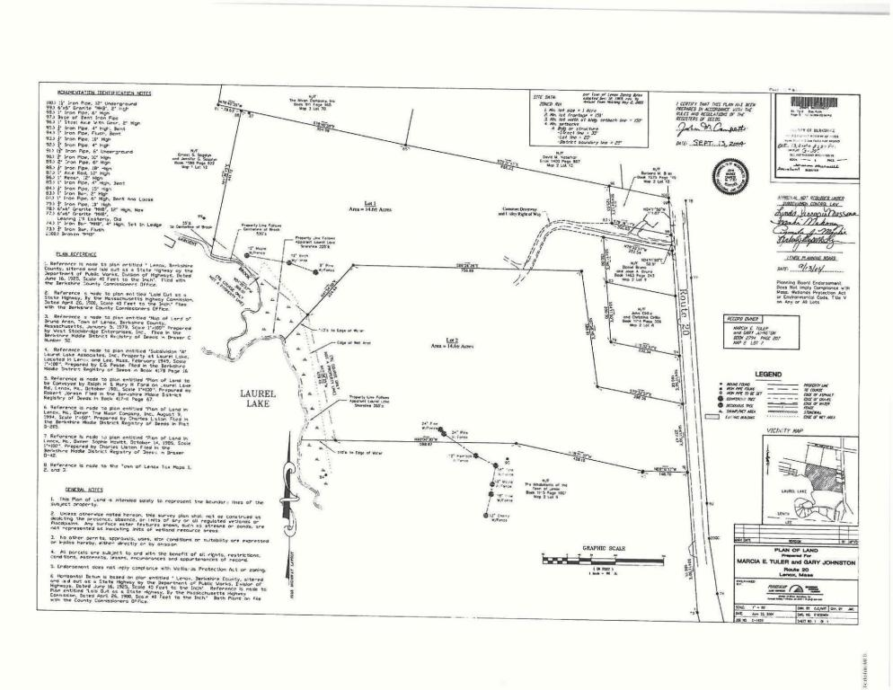14.6 acres by Lenox, Massachusetts for sale