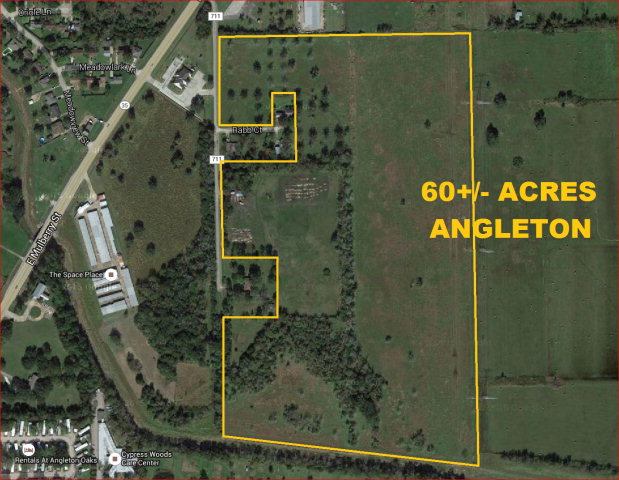 0 Rab Rd./cr 711 (60+/- Acres) Angleton, TX 77515