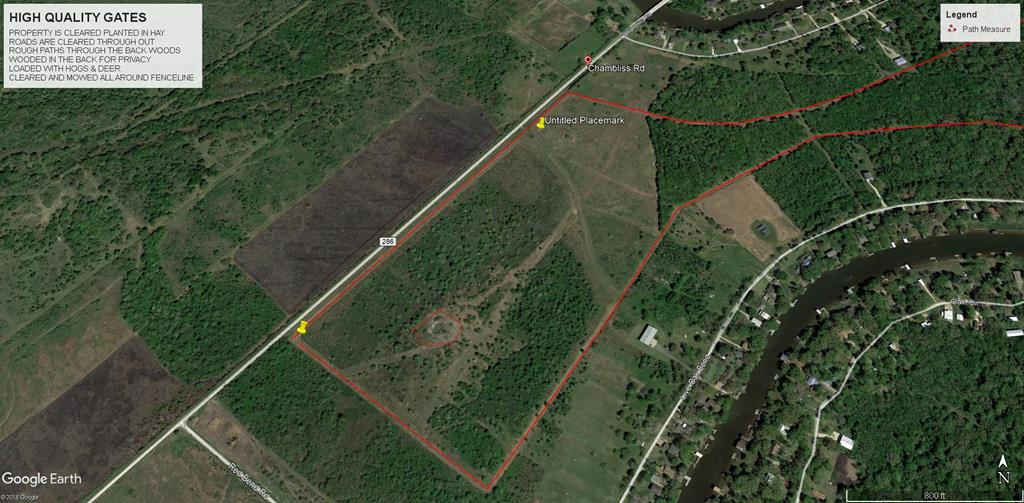 00000 CR 286 (Chambliss Road) SARGENT, TX 77414
