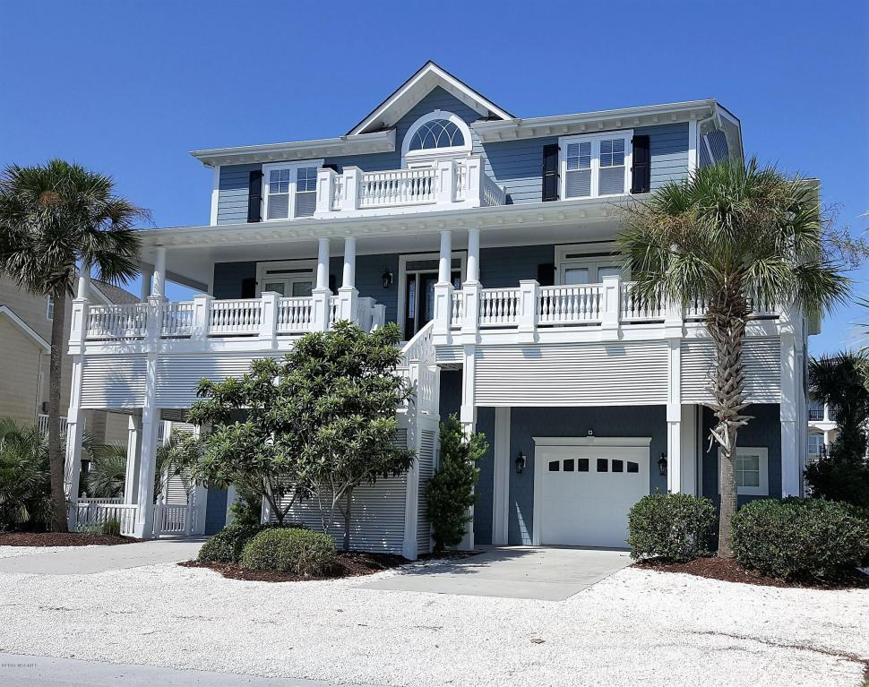 North Carolina Waterfront Property In Ocean Isle Sunset