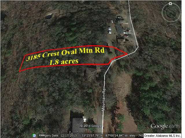 3185 CREST OVAL MTN RD BESSEMER, AL 35023