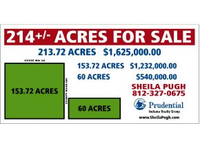 60 acres in Rossville, Indiana