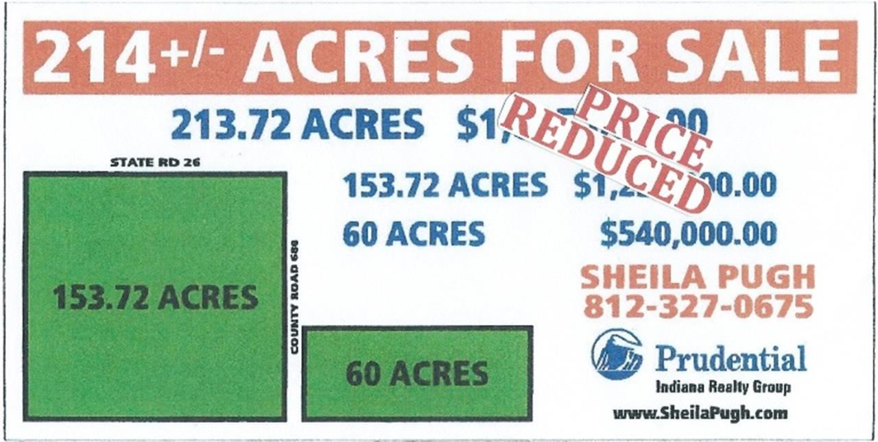 60 acres Rossville, IN