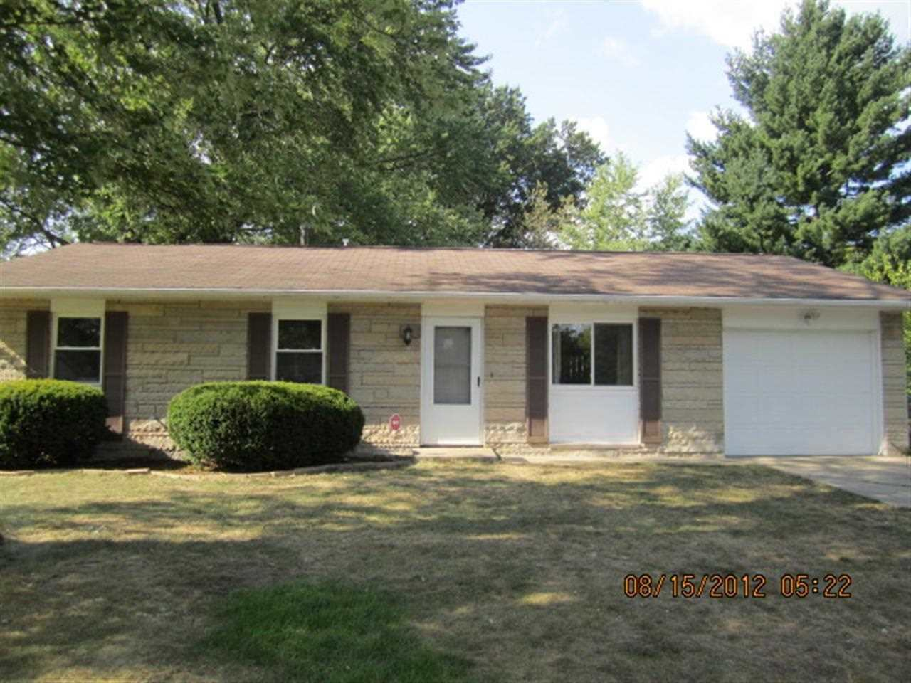 Rental Homes for Rent, ListingId:26955636, location: 3812 Stafford Drive Bloomington 47403