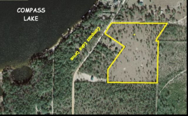 15.7 acres Compass Lake, FL
