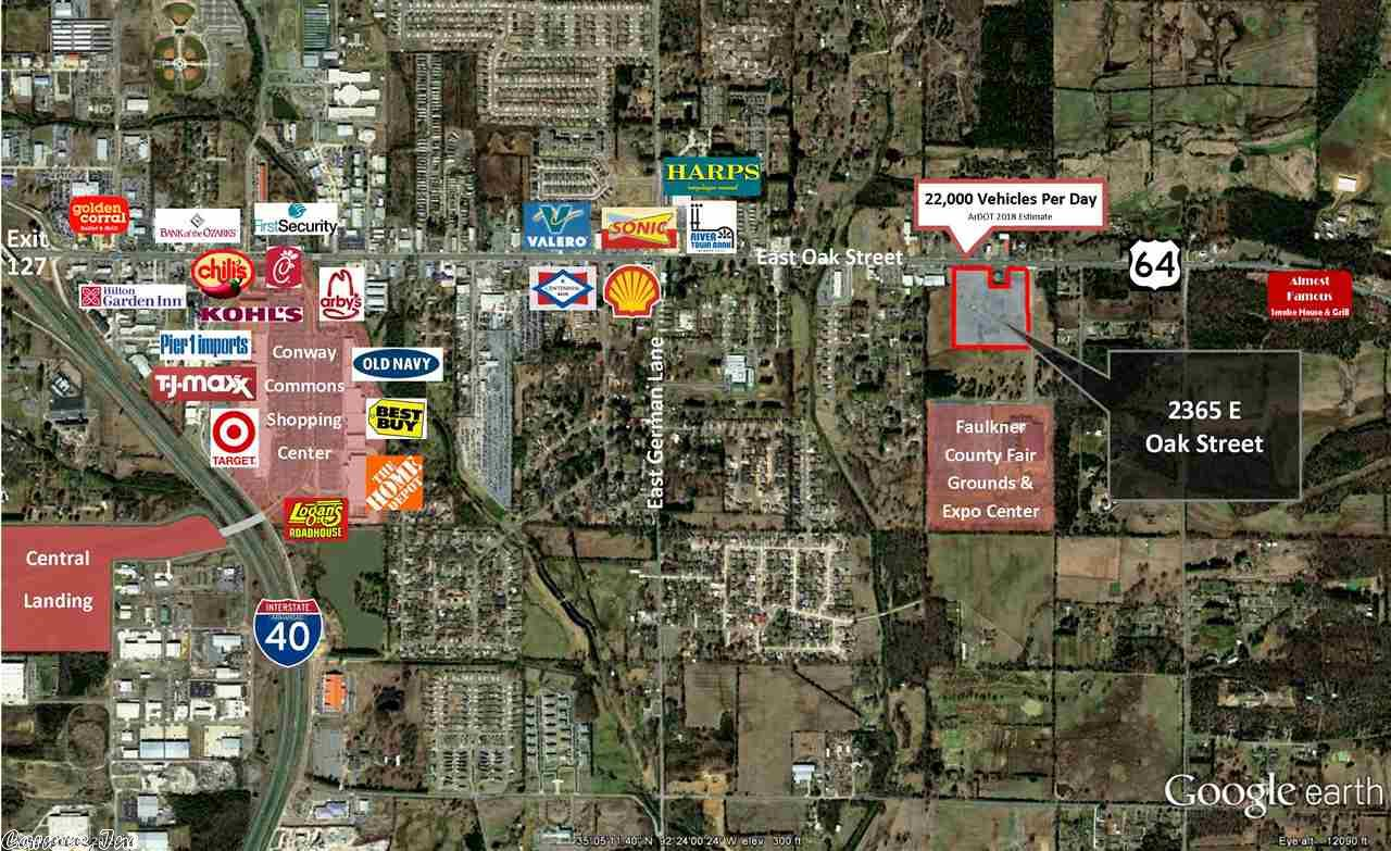 Image of Commercial for Sale near Conway, Arkansas, in Faulkner county: 15.23 acres