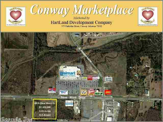 Image of Acreage for Sale near Conway, Arkansas, in Faulkner county: 8.55 acres