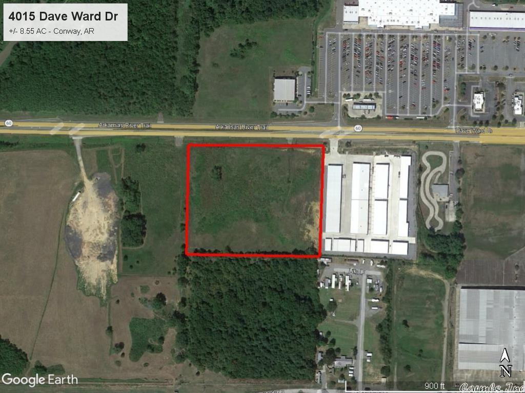 Image of Commercial for Sale near Conway, Arkansas, in Faulkner county: 8.55 acres