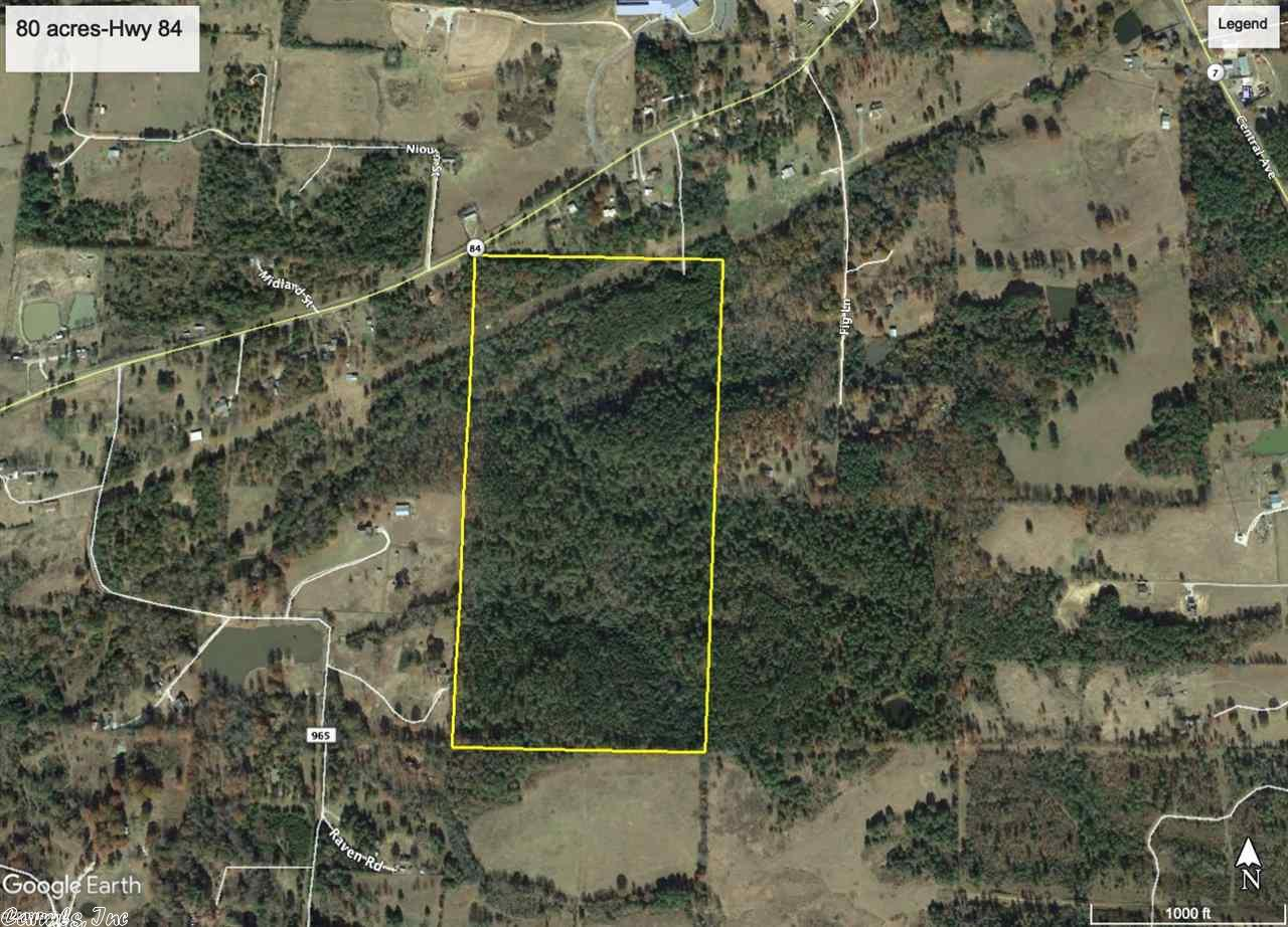 80 acres Hwy 84 Bismarck, AR 71929