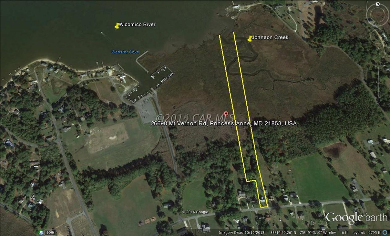 5.13 acres Princess Anne, MD