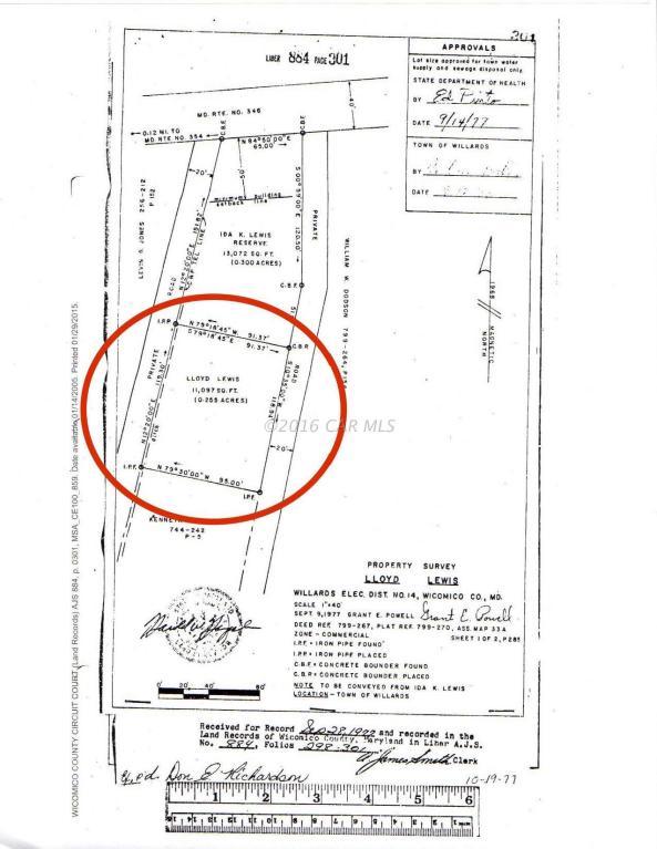 7238 Lewis Ln, Willards, MD 21874