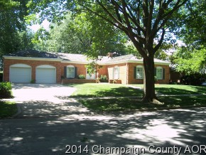 1005 W CLARK ST, one of homes for sale in Champaign