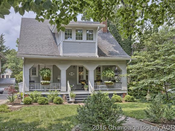 918 W PARK AVE, one of homes for sale in Champaign