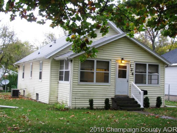 Photo of 124 W CAMPBELL AVE  RANTOUL  IL