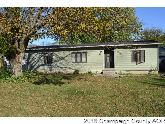 Photo of 606 W SHURBET ST  THOMASBORO  IL
