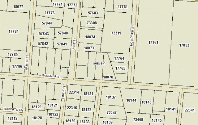 Land for Sale, ListingId:30917406, location: 408 Gardner Street Shelby 28150