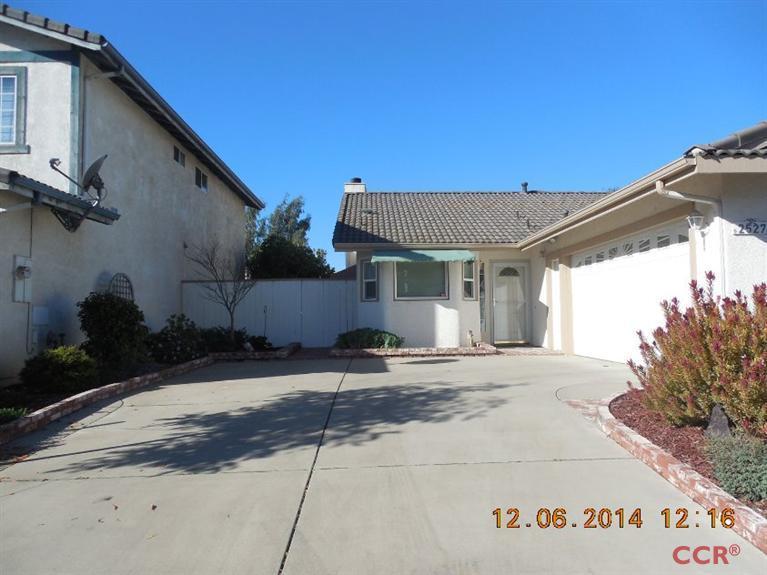Rental Homes for Rent, ListingId:30887383, location: 2527 Savoy Santa Maria 93455